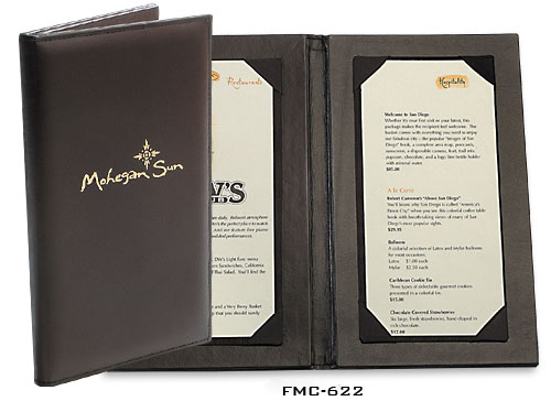 Restaurant Menu Binder